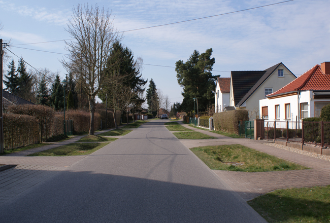 Parkplatz Strasse